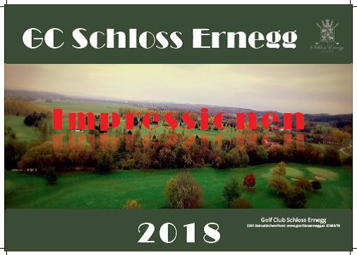 GC Schloss Ernegg Jahreskalender 2018
